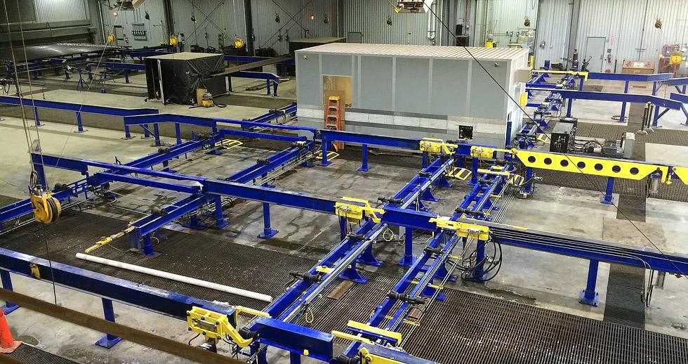 Conveyor & Rack System