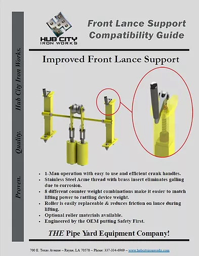 Front Lance Support Compatibility Guide