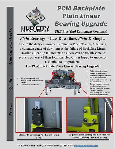 PCM Backplate Bearing Upgrade