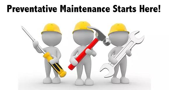 Preventive Maintenance Starts Here graphic
